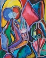 Z výstavy Outsider Art – Tři osudy (Foto: www.gallerymillennium.cz)