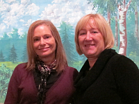 Carole Genshaft, Nina Malíková, photo: Courtesy of the Columbus Museum of Art