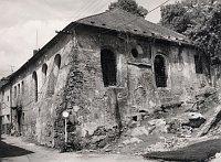 Synagogue de Třebíč, J. Fiedler, 1990, JMP