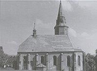 Kirche von Přísečnice (Foto: Vernichtete Kirchen Nordböhmens 1945-1989)