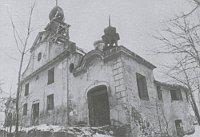 Wallfahrtskirche von Verneřice (Foto: Vernichtete Kirchen Nordböhmens 1945-1989)
