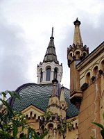 Dome and towers on the Academy of Arts in Sarajevo, photo: Public Domain