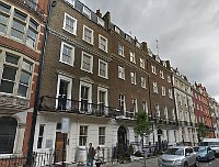 13 Harley St - the Czech Centre in London, photo: Google Street View