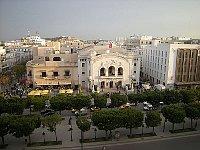 Le théâtre municipal de Tunis, photo: Leandro Neumann Ciuffo, CC BY 2.0 Generic