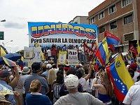 Manifestación de la oposición a Hugo Chávez (2007), foto: Rufino, CC BY-SA 2.0