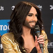 Conchita Wurst, photo: Albin Olsson, CC BY-SA 3.0 Unported