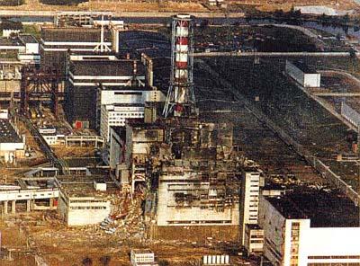 Havárie v černobylské jaderné elektrárně