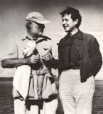 Ernest Hemingway and Eduard Ingriš