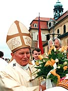 Johannes Paul II. in Velehrad