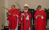 Weihe der  Weidenkätzchen in der Altkatholischen Kirche in Prag