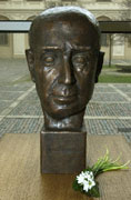 Bust of Jan Masaryk, photo CTK