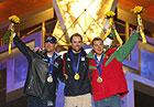 Ales Valenta a remporté l'épreuve de saut en ski acrobatique, photo: CTK