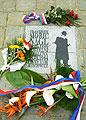 Gedenktafel für F.M. Nagl, Foto:CTK