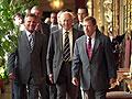 Alexander Kwasniewski, Ferenc Madl et Vaclav Havel (Foto: CTK)