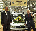 Im Skoda Auto (Foto: CTK)