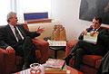 Milos Zeman und Romano Prodi, Foto:CTK