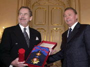 Vaclav Havel und Rudolf Schuster, Bratislava, Foto: CTK