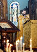 Богослужение в православной церкви 6 января в Карловых варах (Фото: ЧТК)
