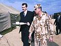 Jaroslav Tvrdik, le ministre tchèque de la Défense, au Koweït, photo: CTK