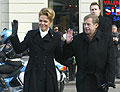 Vaclav Havel und seine Frau Dagmar (Foto: CTK)