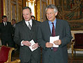 Cyril Svoboda et Dominique de Villepin (Photo: CTK)