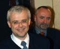 Vladimir Spidla und Petr Mares, Foto: CTK