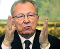Jacques Delors (Photo: CTK)