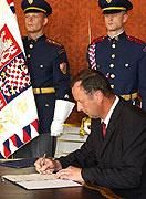 Le nouveau ministre de la Défense, Miroslav Kostelka, photo: CTK