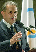 Jacques Rogge, photo: CTK