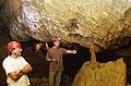 Speleologové při prohlídce Zbrašovských aragonitových jeskyní, foto: ČTK