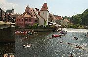 Krumlov - août 2003, photo: CTK