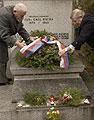 La cérémonie commémorative à Trhove Sviny, photo: CTK