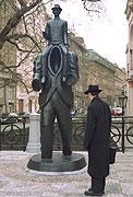 Estatua del escritor checo, Franz Kafka, foto: CTK