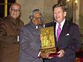 Le Président indien Abdul Kamal avec l'ex-Président de la République Tchèque, Vaclav Havel, photo: CTK