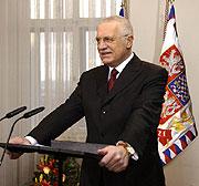 Präsident Vaclav Klaus (Foto: CTK)