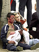 Terrorist attacks in Madrid, photo: CTK