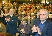 Applaus für Milos Zeman (Foto: CTK)