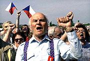 Le parti communiste de Bohême et de Moravie a célébré la fête du travail (Photo: CTK)