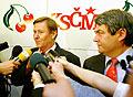 Miroslav Grebenicek (links) und Vojtech Filip (Foto: CTK)