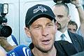 Tour-de-France-Sieger Lance Armstrong in Prag (Foto: CTK)
