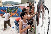 Les enfants du centre de vacances de la communauté rom, photo: CTK