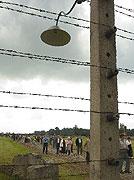 Koncentrační tábor Osvětim-Březinka, foto: ČTK