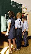 Das neue Schuljahr hat  begonnen (Foto: CTK)