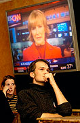 Les Américains suivent les élections présidentielles, photo: CTK