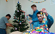 Příprava vánočního pohoštění ve věznici (Foto: ČTK)