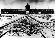 Auschwitz in 1945 (Photo: CTK)