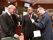 Sitzung der EU-Finanzminister in Brüssel (Foto: CTK)