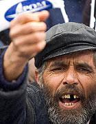 Bulharští Romové se 2. února v Sofii sešli na demonstraci zaměřené proti jejich diskriminaci (Foto: ČTK)