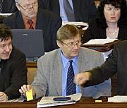 Председатель компартии Мирослав Гребеничек (Фото: ЧТК)