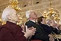Les anciens prisonniers du camp de concentration de Buchenwald (Photo : CTK)